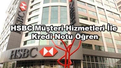 HSBC Müşteri Hizmetleri İle Kredi Notu Öğren